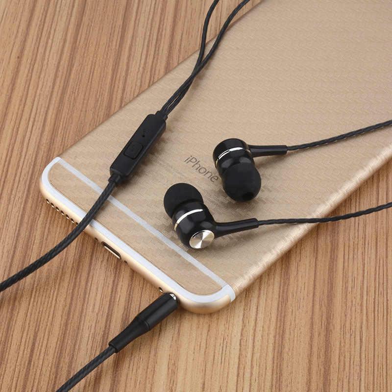 3.5 ミリメートルイヤホン超低音イヤホンハイファイヘッドホンとマイク VPB S12 イヤホン fone のデ ouvido Xiaomi 電話 mp3