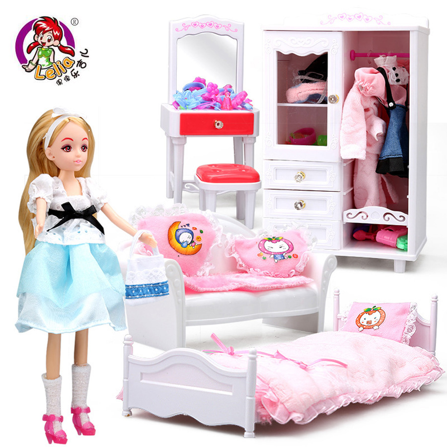 Lelia kawaii  pretend play classic toys Fantastic Dream room gift box Joints can be bent Simulation Doll for children