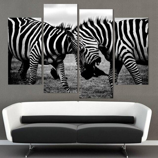4 panelen canvas twee zebra paard op canvas muur foto home decor 4 panelen canvas twee zebra paard op canvas muur foto home decor fou201 thecheapjerseys Gallery