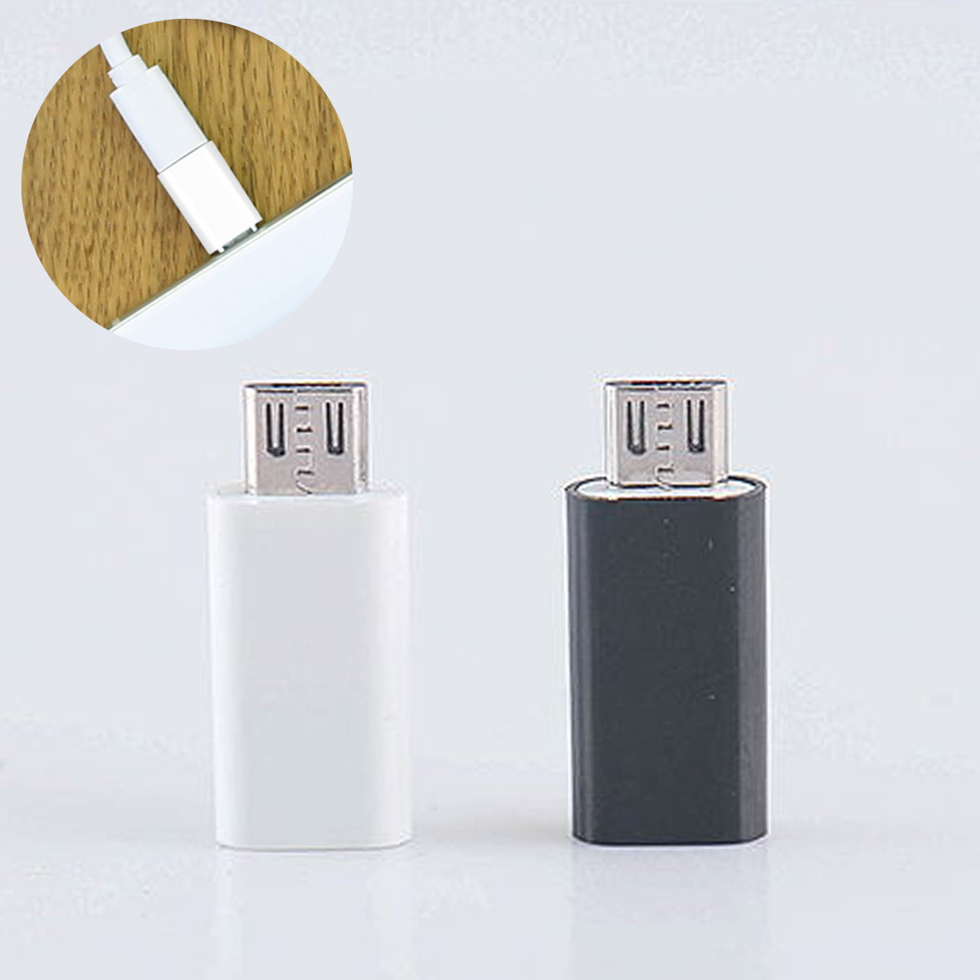 High Speed Type-C Female To Micro USB 2.0 Male USB 3.1 Converter Data Adapter For Phone Tablet PC Android Phone Accessories