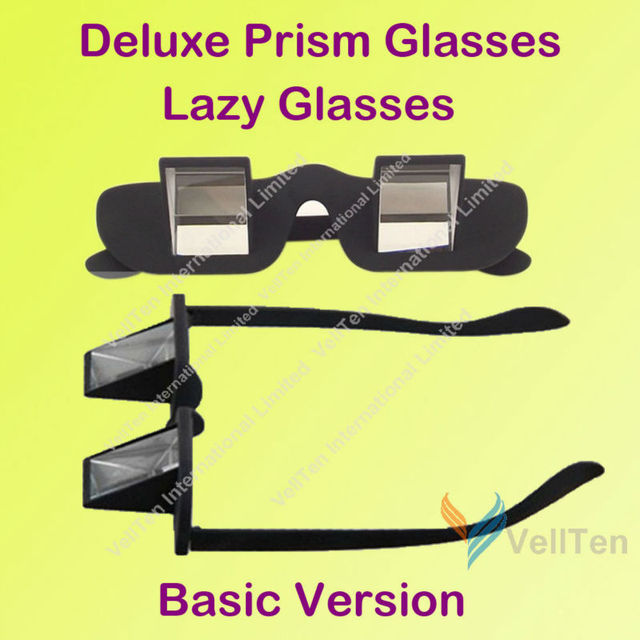 Novelty! LAYING IN BED TV BOOK READING PRISM GLASSES PERISCOPE PRISM EYEGLASSES PRIZM