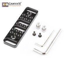 """Многофункциональная Монтажная пластина для сыра CAMVATE с 1/""""-20 и 3/8""""-16 соединениями C1751 аксессуары для фотосъемки камеры"""