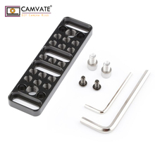 CAMVATE Multi-function Mounting Plate Cheese Plate with 1/4