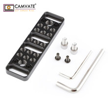 "CAMVATE Multi-function Mounting Plate Cheese Plate with 1/4""-20 and 3/8""-16 Connections C1751 camera photography accessories(China)"