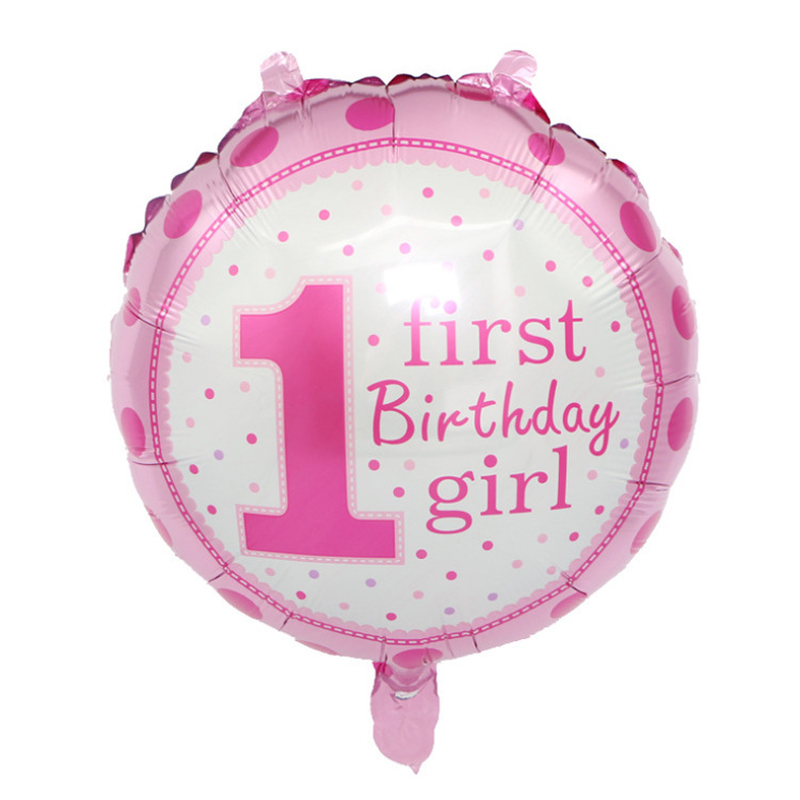 Baby 1 Birthday Theme Party Decorating Balloons for Baby Shower Background Decoration in Ballons Accessories from Home Garden