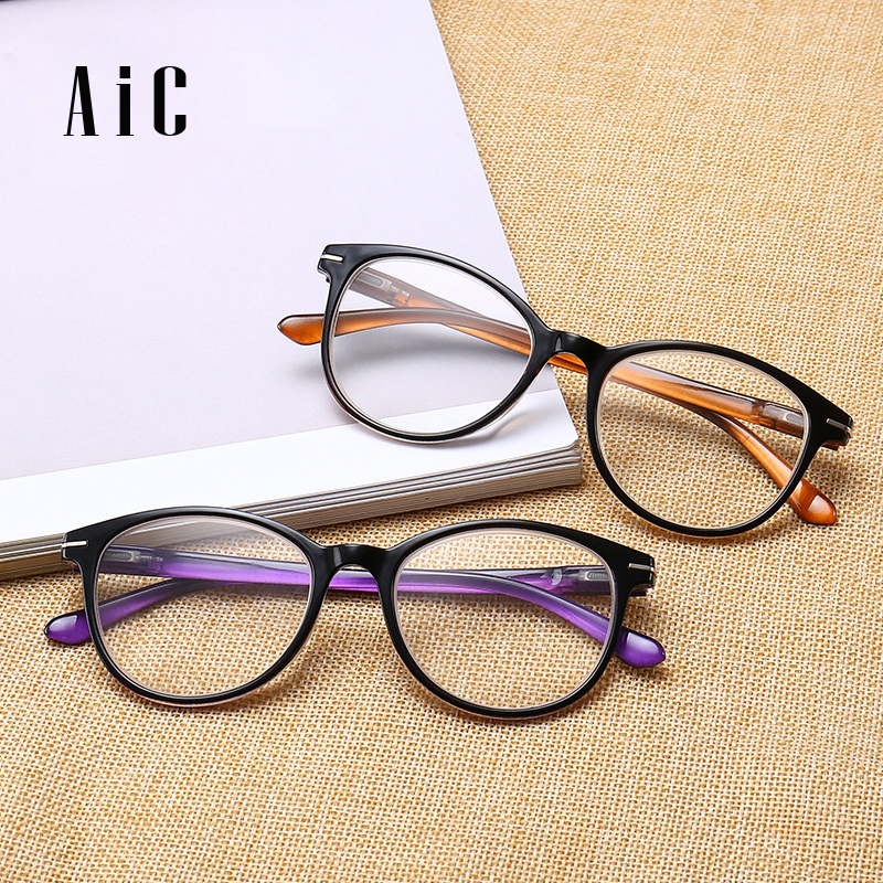 Fashion Reading Glasses Retro Style Round Men Women female PC lunettes de lecture pour homme 1.0 1.5 2.0 2.5 3.0 3.5 4.0
