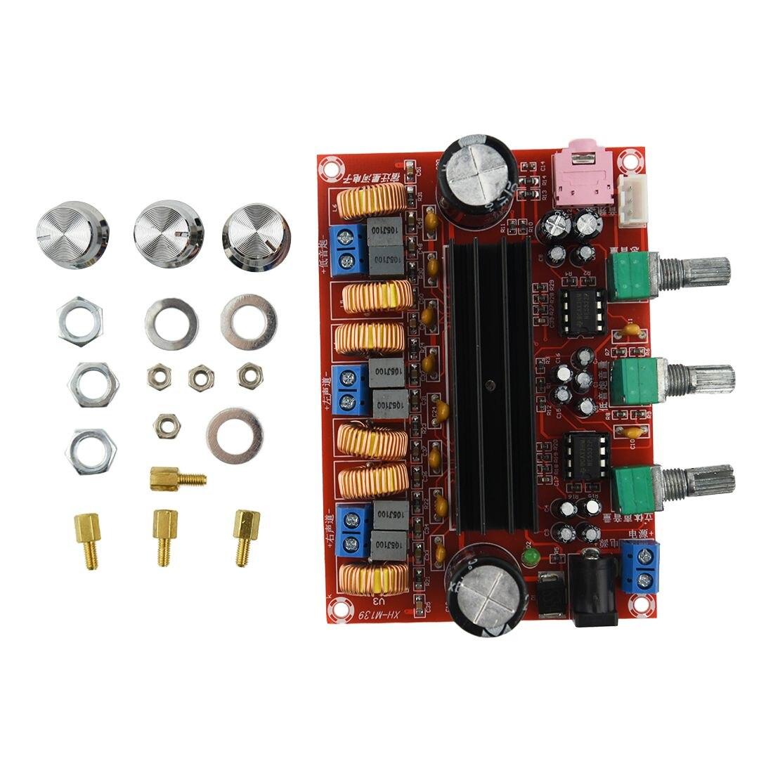 Fasdga Amplifier Board Tpa3116d2 50wx2 100w 2 1 Channel