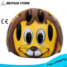 Brand Lovely Children's Bicycle Helmet,Kids Riding Helmet Scooter Skating Roller Skating Speed Skating Helmet 3-8years Lion Bike