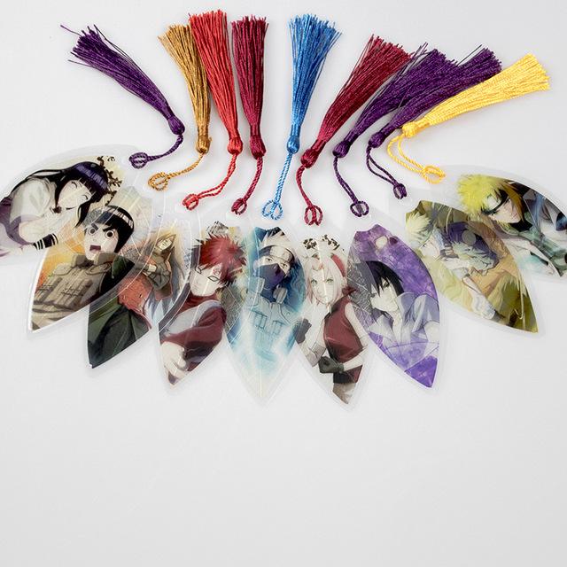 Naruto Shippuden Marcapáginas de PVC (9 Colores)