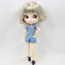 ICY Neo Blythe Doll Platinum Hair Jointed Body 30cm