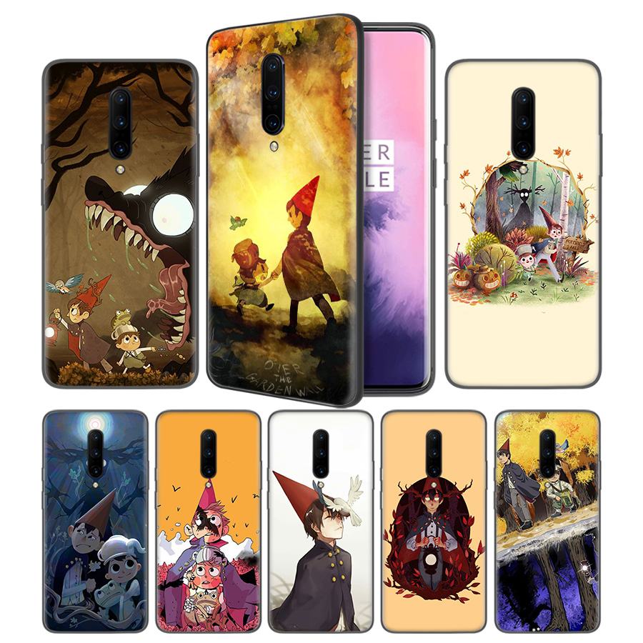 over the garden wall Soft Black Silicone Case Cover for font b OnePlus b font 6
