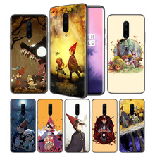 over the garden wall Soft Black Silicone Case Cover for OnePlus 6 6T 7 Pro 5G Ultra-thin TPU Phone Back Protective