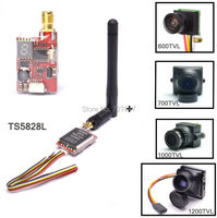 Ready To Sky TS5828L Micro 5 8G 600mW 40CH Mini FPV Transmitter 600TVL 700TVL 1000TVL Camera