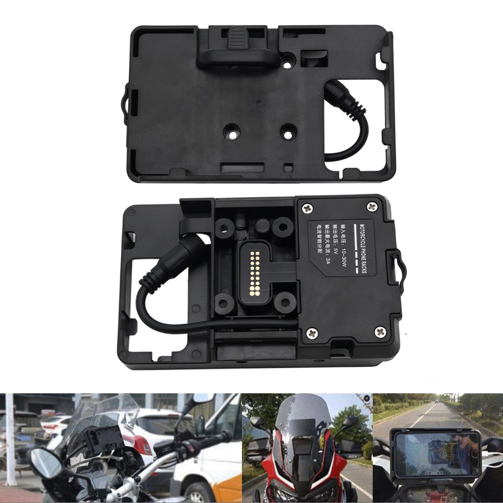 Brand New For BMW R1200GS LC 2013 On Mobile Phone Navigation Bracket For GARMIN USB Phone
