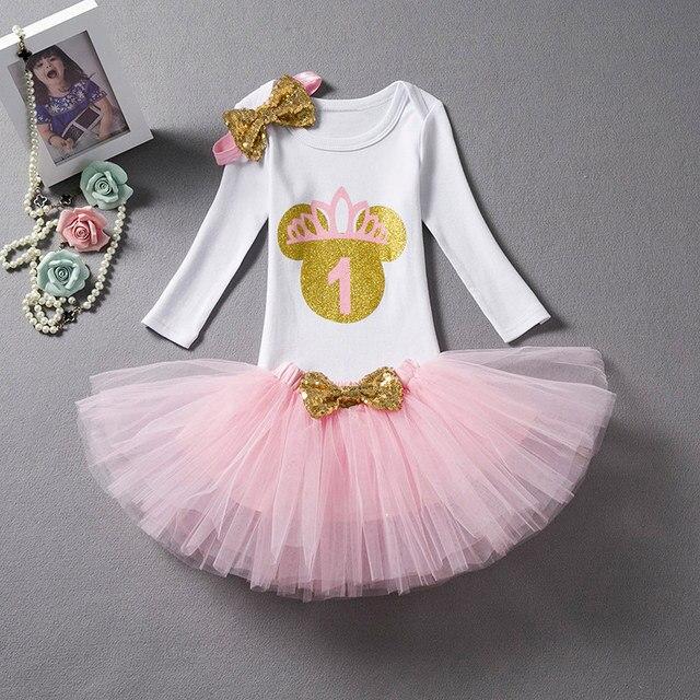Vestiti di Estate dei capretti Per Le Ragazze Prima Festa Di Compleanno  Abiti Little Girl Insiemi 96f95fe075b