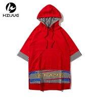 HZIJUE Hip Hop Streetwear T Shirt MenCasual T Shirt Dance T Shirt Men Harajuku Tee Shirt