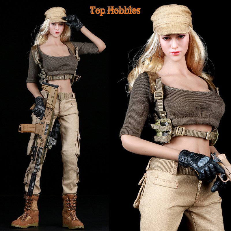 Fire Girl Toys 1/6 Scale FG010 Female Gunners Tactics Cool Clothing Suit Models For 12