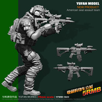 1/24 75mm SEAL Resin Man Figure Model YFWW 1823