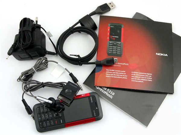 Online Shop Termurah Dibuka Asli Ponsel Nokia 5310 Xpressmusic Merah