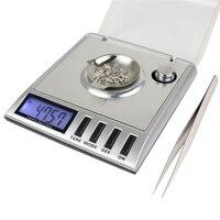 Portable 20g x 0.001g Digital Pocket Échelle Outil LCD Électronique Bijoux Diamant Or Herbe Équilibre Échelles De Pondération Bleu rétro-éclairage