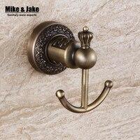 Wall Cloth Hanger Bronze Single Cloth Hook Coat Hooks Bathroom Accessories 1 3 Copperwall Hook 2015