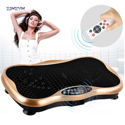Fitness Ausrüstung Power Fit Vibration Platte Maschine, Übung Vibration Platte, Crazy Fit Massage Vibration Platte Körper Massager