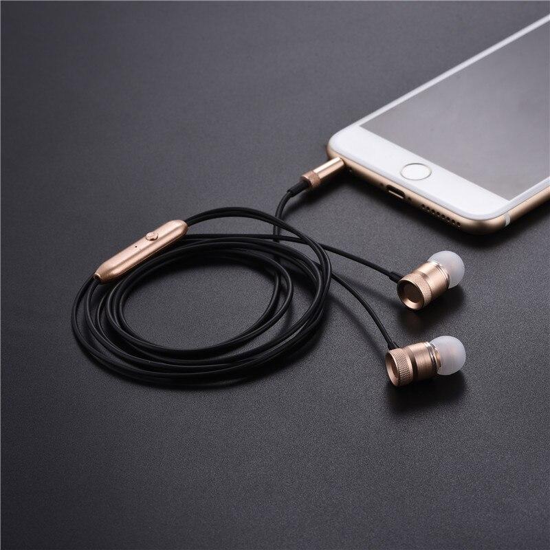 Xiaomi Mi5 Earphone, Professional In-Ear Earphone Metal Heavy Bass Sound Music Earpiece for Xiaomi Mi 5 fone de ouvido With Mic