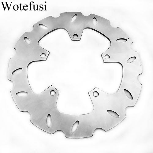 Wotefusi Front Brake Disc Rotor For Yamaha YP125R 2006 2007 2008 YP125 Majesty DX 2002 [MT86] keoghs motorcycle brake disc brake rotor floating 260mm 82mm diameter cnc for yamaha scooter bws cygnus front disc replace