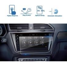RUIYA закаленное стекло Защита экрана для Volkswagen Tiguan/VW Tiguan II GTE Allspace Discover Pro 9,2 дюймов автомобильный навигационный экран