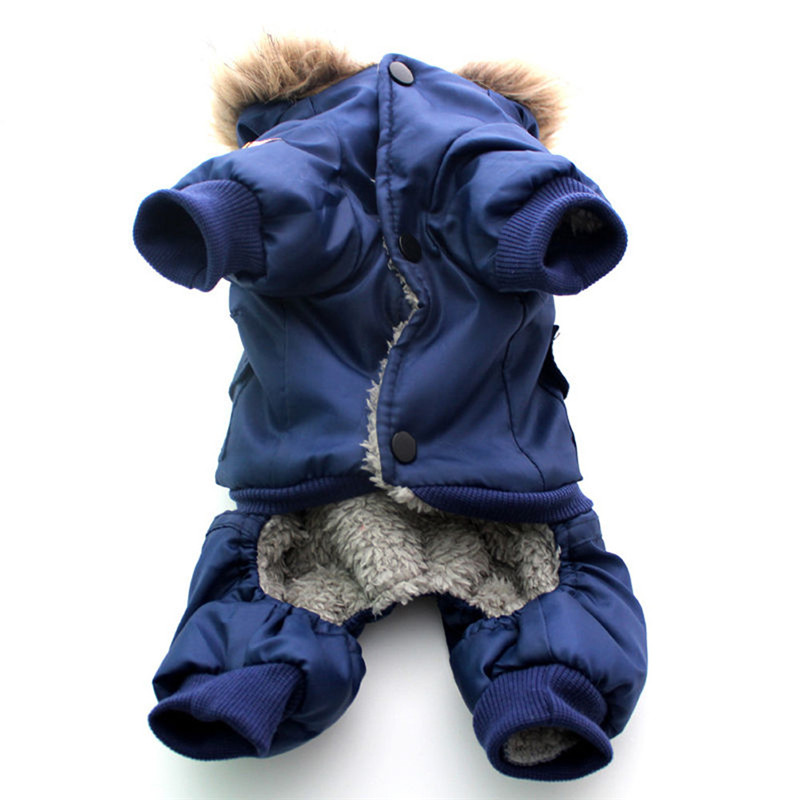 High Qulaity Dog Puppy Winter Jacket Coat USA LUFTFORCE - Pet produkter - Foto 3