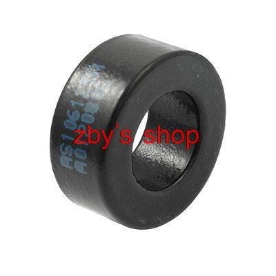 Inducator Part Black Iron Power Ferrite Toroid Core AS106-125A 27 x 15 x 12mm/ 1 x 0.6 x 0.47 (ODxIDxT) toroidal transformer 32mm inner diameter ferrite core as200 125a black