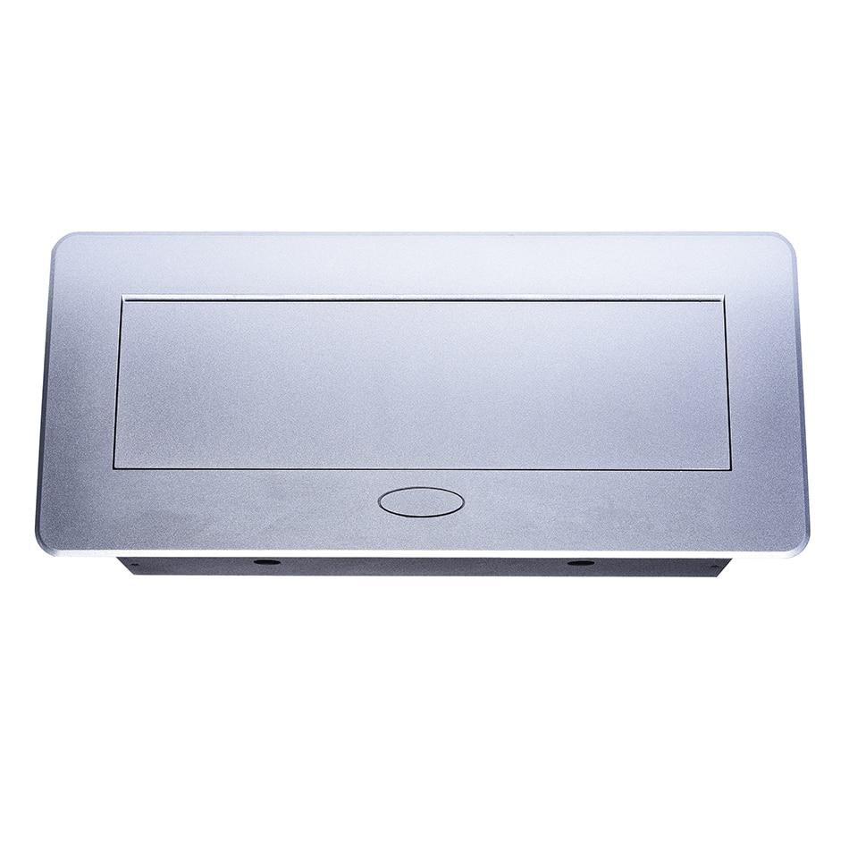 Universal Power Tabletop Socket Hidden Vga 3 5mm Audio Hd Hdmi Usb