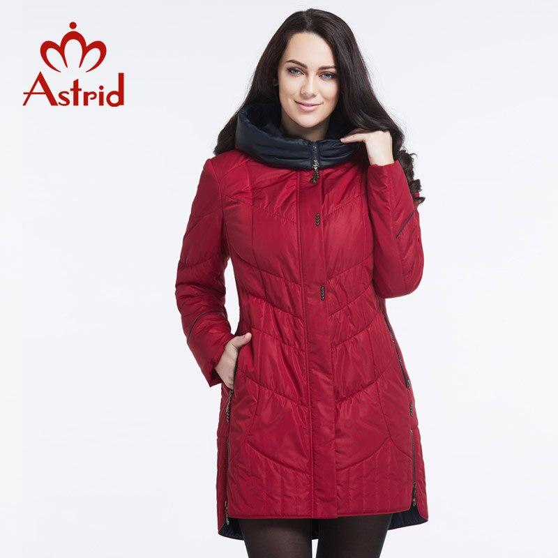 Astrid jas winter vrouwen jas Casual vrouwelijke Parka Vrouwelijke Hooded Jassen solid oekraïne Plus Size fashion stijl beste AM  5810-in Parka's van Dames Kleding op  Groep 2