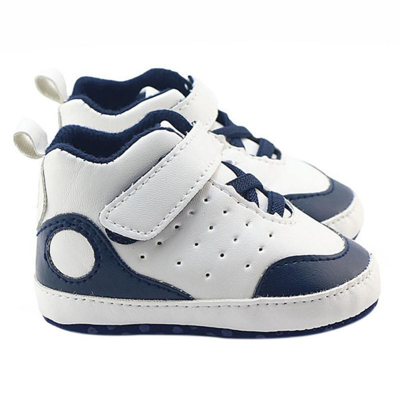 Baby Soft Bottom Sneakers Baby Boys Girls First Walkers Non-slip Toddler PU Leather Shoes For 0-18M Baby Sport shoes