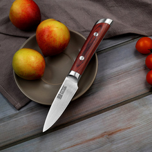 2018 SUNNECKO 3.5″ Fruit Paring Knife German 1.4116 Steel Blade Chef's Slicing Cut Kitchen Knives Wood Handle Christmas Present