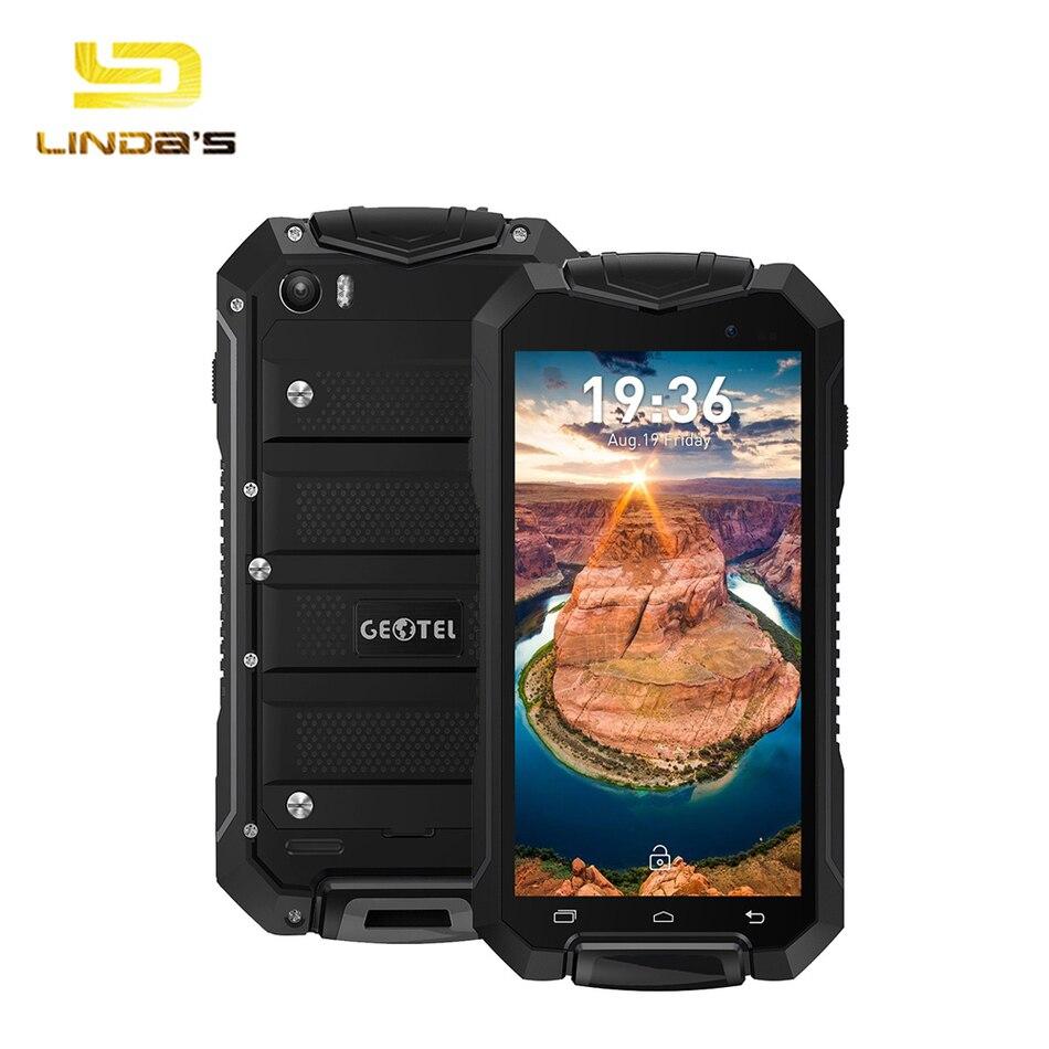 Цена за Оригинальный Водонепроницаемый Android 7.0 Geotel A1 3 Г Смартфон 4.5 ''MTK6580 Quad core Сотовый телефон 1 ГБ 8 ГБ 1.3 ГГц 3400 мАч Мобильного телефона