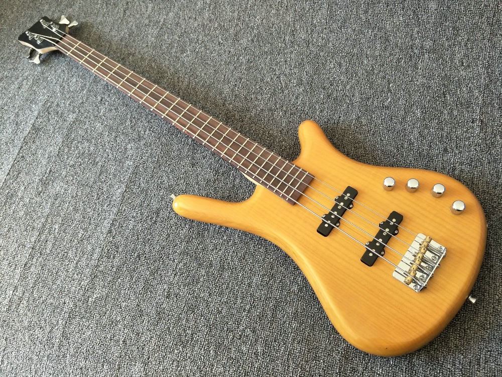 4 strings bass guitar with active pickups wiring harness electric bass guitar wilkinson bridge