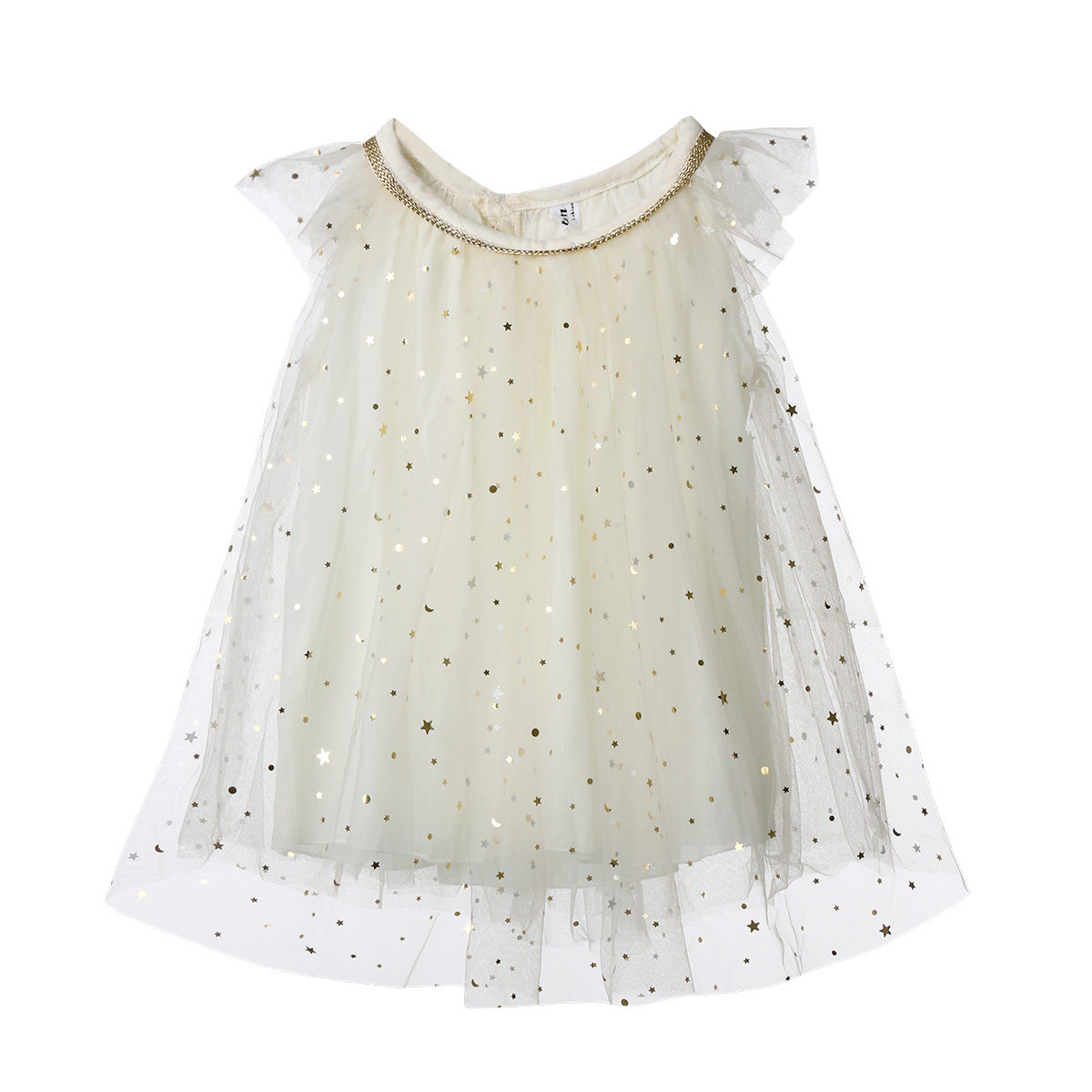 2018 Latest Children's Wear Princess Dress Toddler Kids Baby Girl Tutu Tulle Sequin Star Formal Pageant Chiffon Party Dress 1-6T adorable baby girl and toddler girl formal dress little girl pageant dresses girl brand clothes 1t 6t g284a