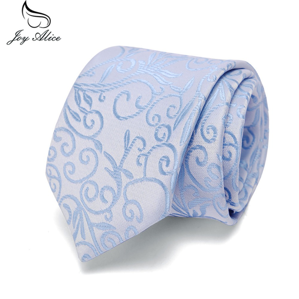 Floral Solid 100%Silk Tie 7.5cm Slim Tie Striped Men's Casual Blue Black Skinny Ties Red Green Gray Necktie For Men Wedding