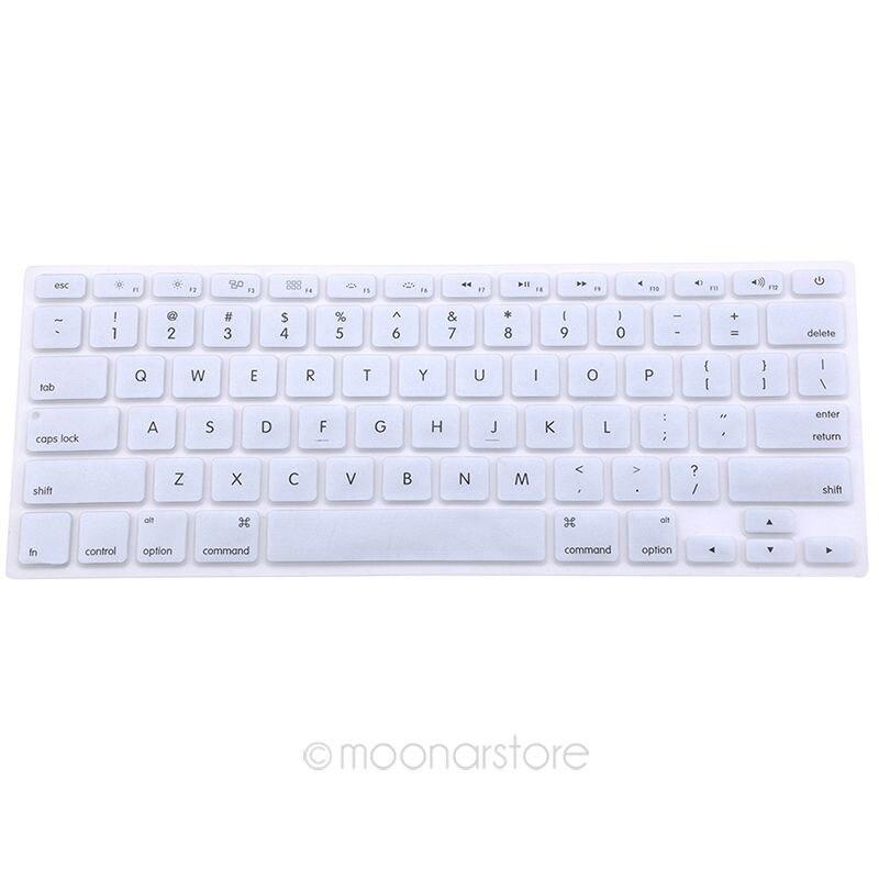 Funda de teclado de silicona de 9 colores para Apple Macbook Pro MAC ...
