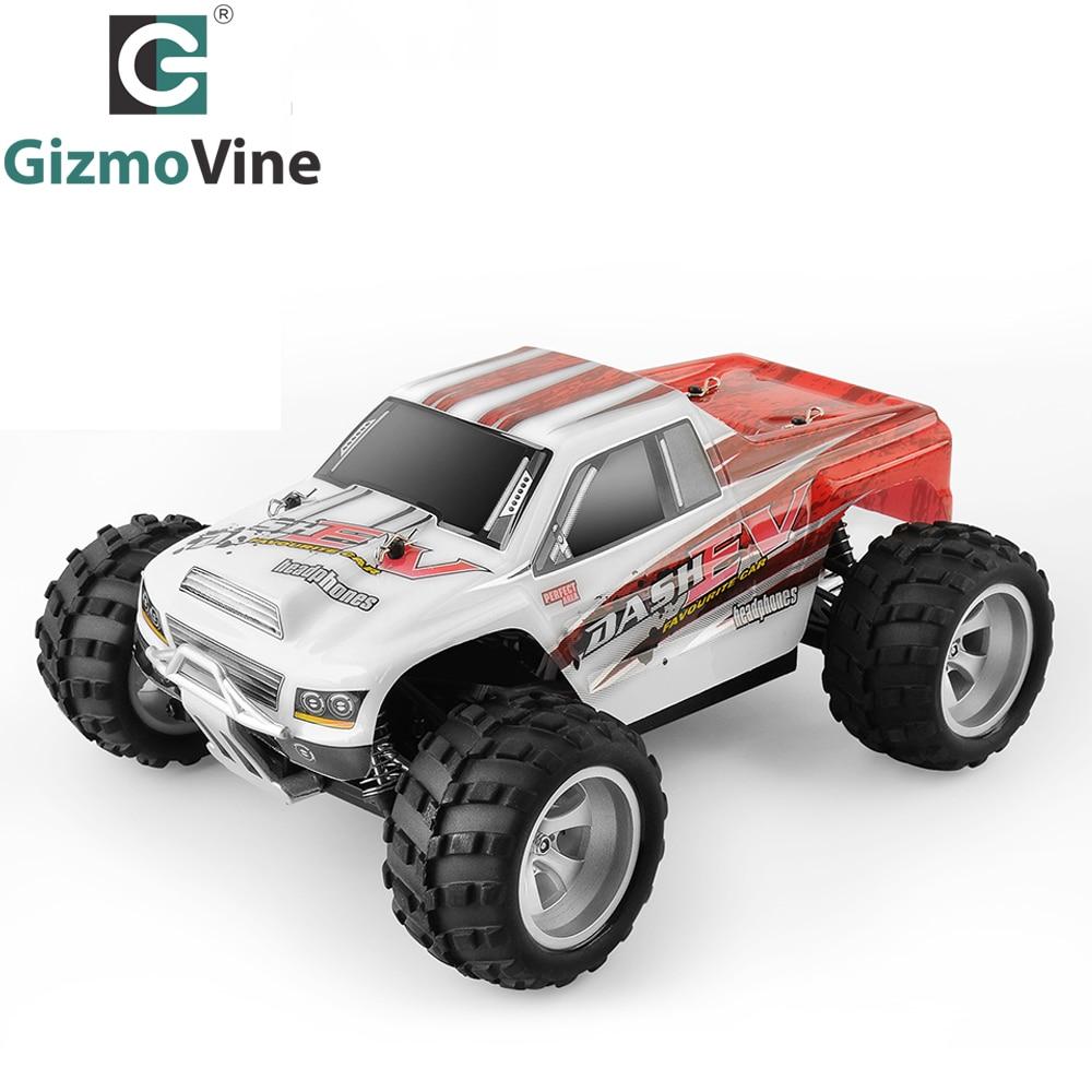 GizmoVine RC CAR 1:18 A959 / A979 upgrade version A979-B 70km/h 2.4G RC car 4WD Radio Control Truck RC Buggy High speed off-road