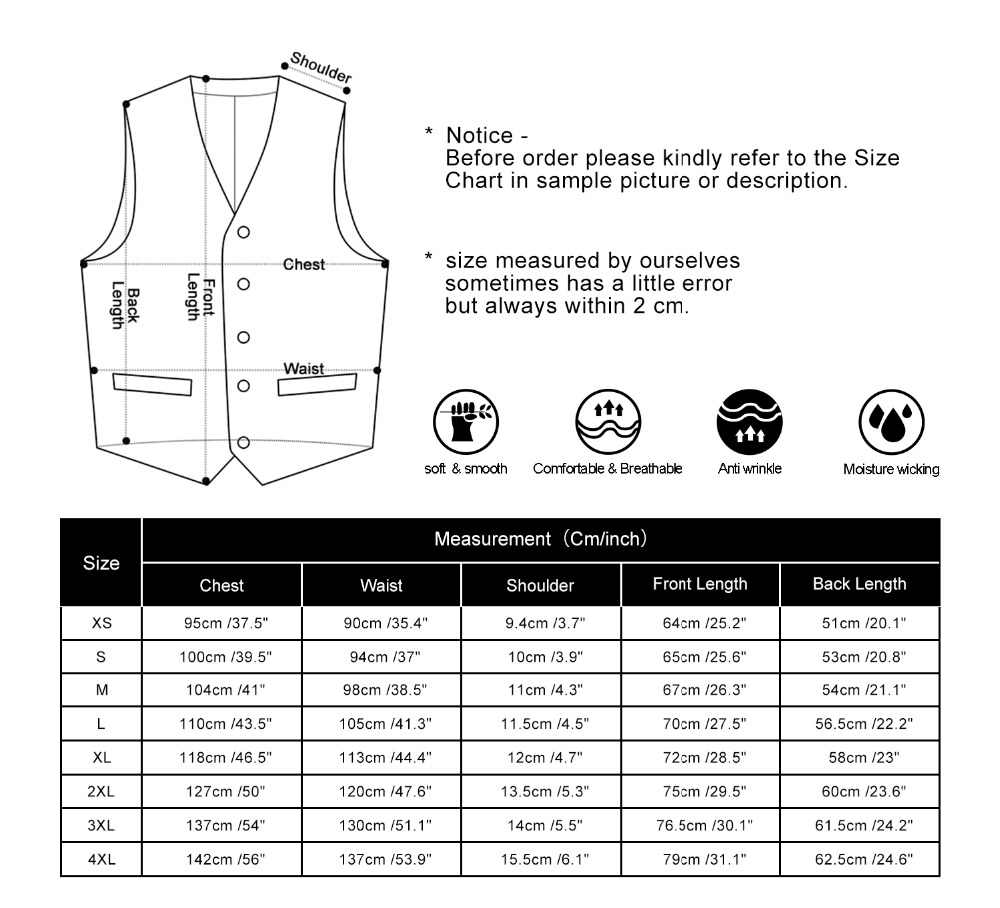 Mannen Wedding Zaken Formele Kleding Vest Pak Slim Fit Casual Tuxedo Vest Mode Effen Kleur