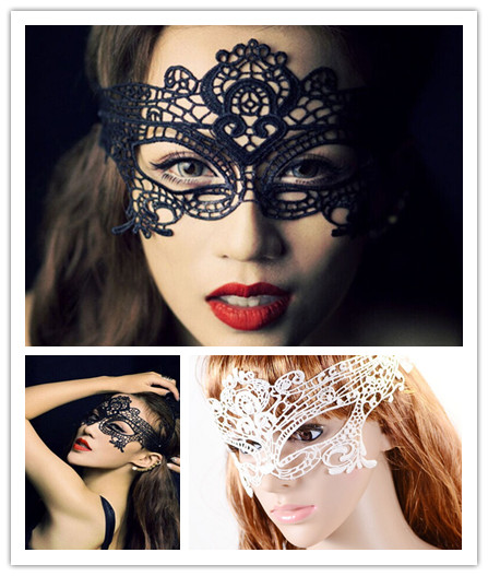 34d20efc943b1 1PCS Sexy Lace Venetian Mask For Masquerade Ball Halloween Cosplay Party  Masks Female Fancy Dress Costume