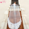 3M Amazing Wedding Veil 3D Flower Charming voile ivoire acessorios de casamento Long Veil For Bridal Wedding wear  Z540