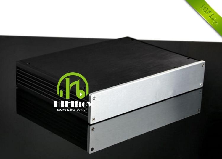 Aluminum case 3406 C5200 a1943 933 ksa 100 Amplifier case big Box class A amplifier alumium chassis size 340*62*248mm krell ksa100 c5200 a1943 260w 2 class ab power amplifier board
