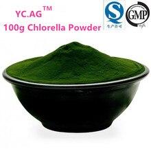 100G Organic Chlorella Powder, Superior Chlorophyll Carotenoids and Protein, Balance Blood Pressure and Blood Sugarchlorella
