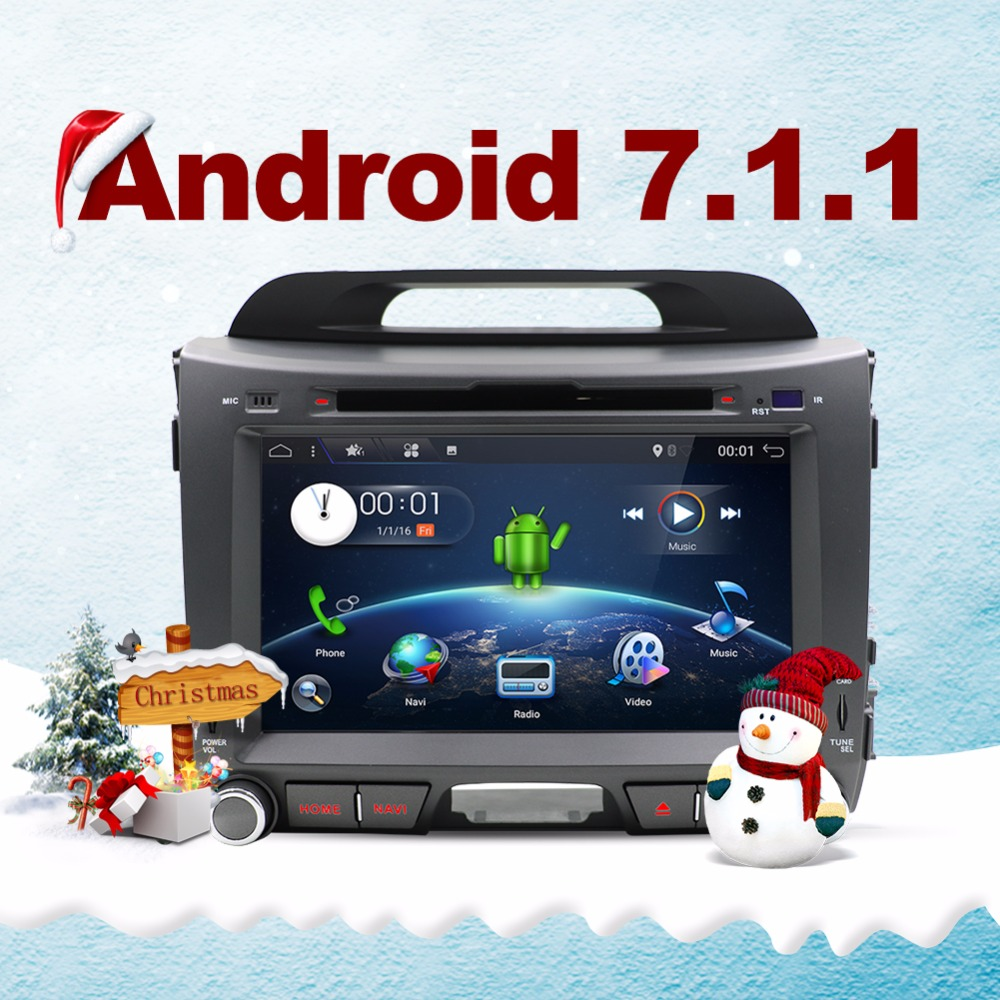 Bosion 2 din Android 6.0 car radio for KIA sportage 2011 2012 2013 2014 2015 car pc head unit with gps navigation stereo wifi
