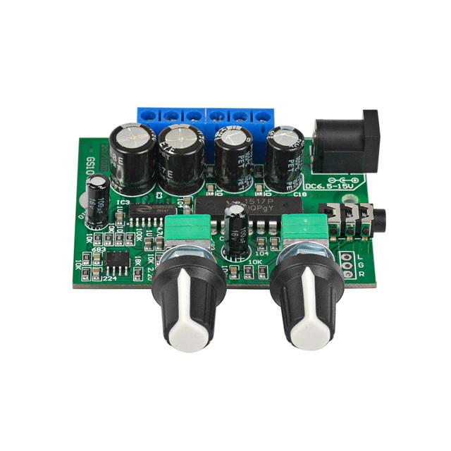 AIYIMA 2.1 Subwoofer Amplifier Audio board 6W*2+25W Mini Bass Amplifier HIFI YD1517P for 4-6 inch 40W SubWoofer Speaker DIY