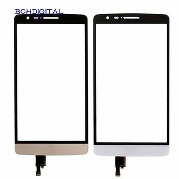 LG002 para LG G3 D850 D855 D858/D690 D690N/G3 Mini G3S D722 D724 Digitalizador de pantalla táctil cristal frontal con sensor de piezas de repuesto