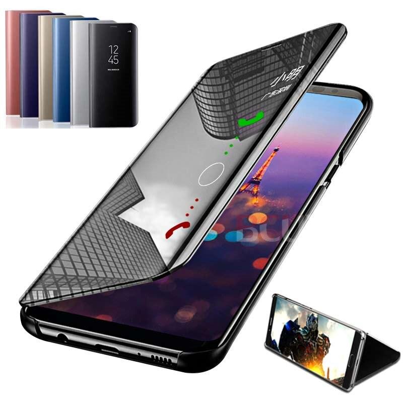 BCUYRS di Vibrazione In Piedi Cassa Del Telefono Per Huawei P20 Lite P20 Pro P30 Pieno di cuoio Dello Specchio di Custodie Per Huawei P20 P30 lite Pro Della Copertura del Sacchetto